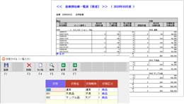 サンプル、資材、什器管理