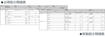 出荷・移動指示明細表|アパレル向けアラジンオフィス