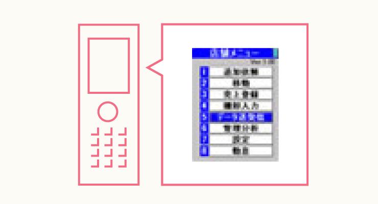 携帯感覚で簡単操作