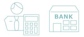 税理士や金融機関、勘定奉行シリーズとも連携が可能