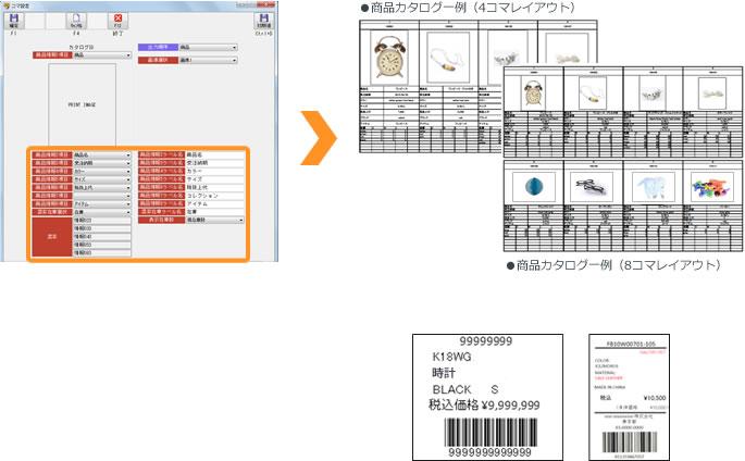 商品データからタグ・カタログ作成