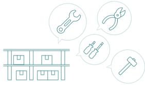 セット品やロット品(同一商品の別原価)の在庫管理