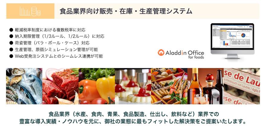 食品製造業・卸売業向け販売・在庫・生産管理システムをご紹介
